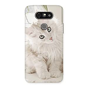 Cute Look Kitty Back Case Cover for LG G5