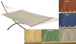 Phat Tommy Sunbrella Dupione Deluxe Fabric Hammock Color: Dove
