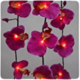 Flower fairy lights - Purple Orchid party lightsby Think Gadgets