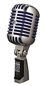 Shure Super 55 Deluxe Vocal Microphone (Chrome)
