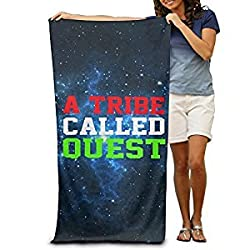 Tribe Called Quest Red Green Logo 31.5'51'Pool Beach Towel