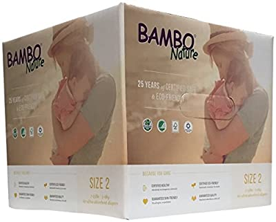 Bambo Nature Diapers - Size 2 - 60 ct