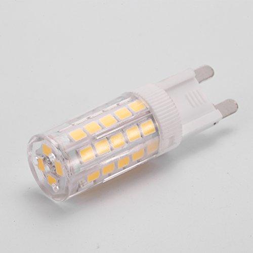 j c g9 led light bulbs 5w 40w halogen equivalent 400lm daylight white 6000k 120v g9 bi. Black Bedroom Furniture Sets. Home Design Ideas