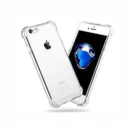 iPhone7 ケース ハイブリッド クリスタル 透明 クリアケース