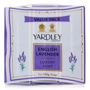 Yardley English Lavender Soap (100 gms X 3)