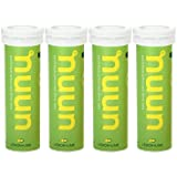 Nuun Active Hydration, Electrolyte Enhanced Drink Tablets, Lemon+Lime (4 Tubes/12 Tabs Per Tube)