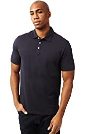 Pure Cotton Plain Polo Shirt with Stay New™