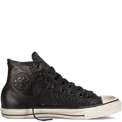 Buy Converse by John Varvatos Mens Ct All Star Woven Leather Hi Top Sneaker by Converse X John Varvatos