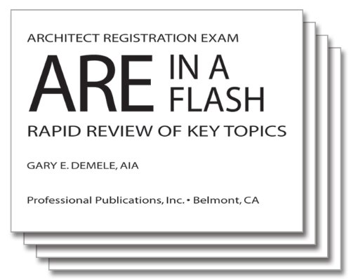 ARE in a Flash: Rapid Review of Key Topics