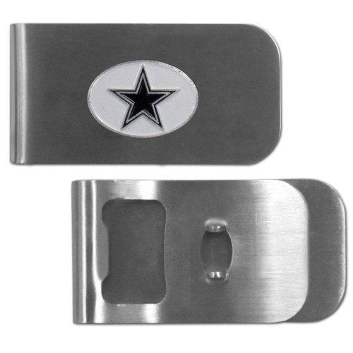 Nfl Dallas Cowboys Bottle Opener Money Clip