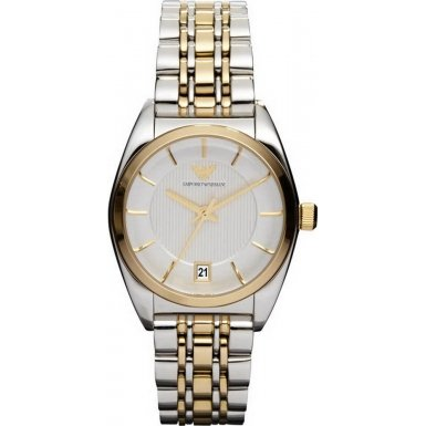 Emporio Armani AR0380 Ladies Retro Classic Two Tone Watch