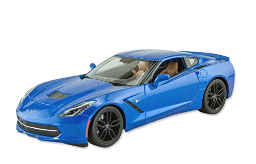 Corvette C7 Stingray Z51 Coupe 1/18 Scale Die Cast by Masito White игрушка jada 2009 corvette stingray concept 84210 1