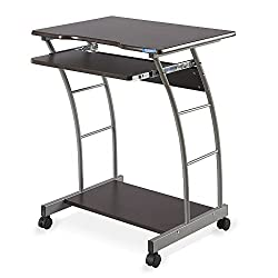 @home by Nilkamal Leo Computer Trolley/Table (Brown)