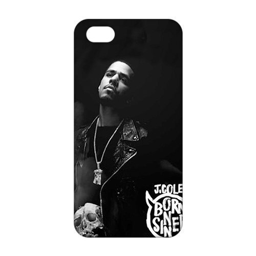3D J. Cole For Iphone 4/4S Phone Case Cover