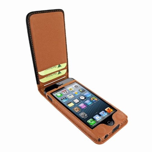 Great Sale Apple iPhone 5 / 5S Piel Frama Two-Tone Magnetic Leather Cover