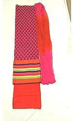 BEAUVILLE VAIIBAVAM Women's Unstiched Salwar Material (BVPCUC_41_Multi_Free Size)