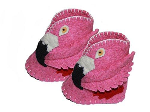 Silk Road Bazaar Zootie, Flamingo, 6-12 Months