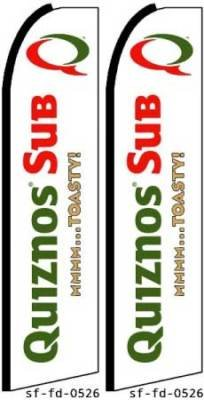 quiznos-feather-banner-flags-complete-kits-pack-of-2