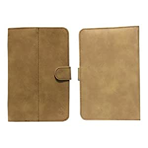 Jo Jo Nillofer Flip Flap Case Cover Pouch Carry For Micromax Canvas Tab P650E Tan