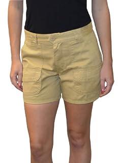 Sabree Missy Cargo Short Khaki-8