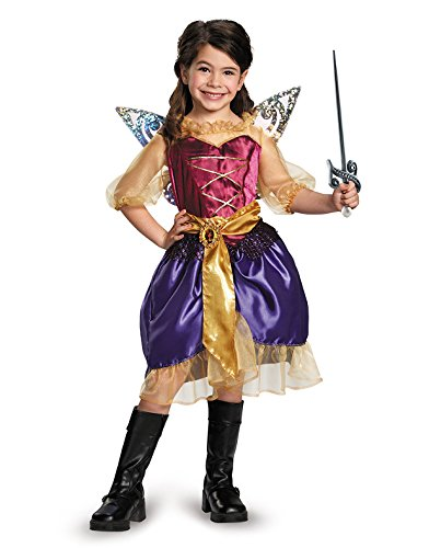 Disguise Disney's The Pirate Fairy Pirate Zarina Classic Girls Costume