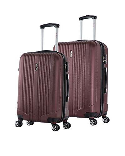 InUSA San Francisco 22 & 26 Hardside Luggage Set, Wine