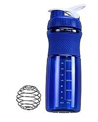 IShake Kool Sprint Shaker Bottle 700 ml (Blue Body, White Lid)