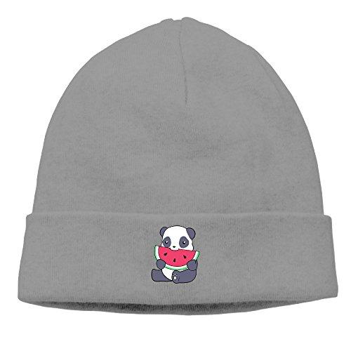 Jirushi Unisex Panda And A Watermelon Beanie Cap Hat Ski Hat Caps Ski Hat Caps DeepHeather