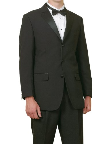 new-mens-5-piece-5pc-complete-single-breasted-black-tuxedo-suit-38-regular