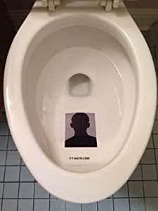 PPShots(TM) Adhesive Photo Protector - Clear Toilet Sticker