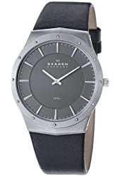Skagen Men's 509XXLSLM Steel Brown Dial Watch
