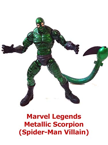Clip: Marvel Legends Metallic Scorpion (Spider-Man Villain)