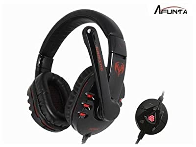 AFUNTA High Quality Genuine Somic Virtual£¨not Real£©7.1 Surround Gaming Headset Stereo Headphone Powerful Bass Earphone with Mic