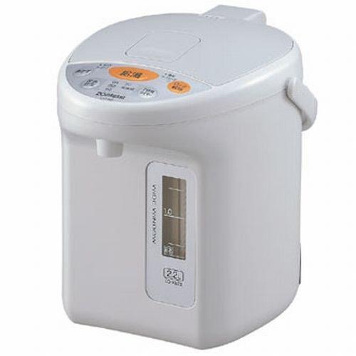 【Amazonの商品情報へ】ZOJIRUSHI マイコン沸とう電動ポット 2.2L CD-XB22-HA グレー