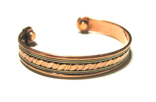 Copper Cuff Magnetic Arthritis Golf Bracelet