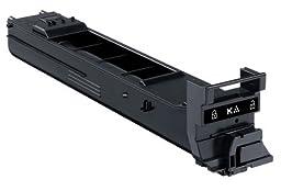 Konica Minolta magicolor 4650, 4690MF, 4695MF Black High Capacity Toner Cartridge (8,000 Yield), Part Number A0DK132