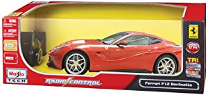 Maisto 1:14 Ferrari F12 Berlinetta RC, Red