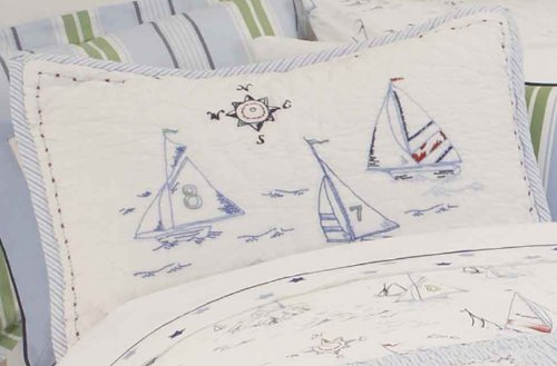 Whistle & Wink High Seas Twin Duvet Cover front-102242