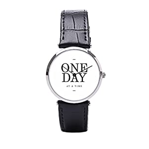 Dr. Koo Quotes Mens Leather Watch Bands Goals Leather Strap Mens Watches