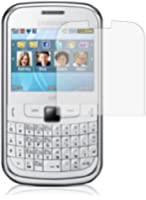 Pack de 6 Films / LCD Protections Ecrans pour Samsung GT-S3350 Chat 335 / GT-S3353 Ch@t 335 - Anti-rayures