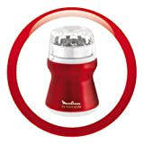 Moulinex-AR1105-Kaffeemhle-mit-Edelstahlbehlter-Red-Ruby-metallic-rot-wei