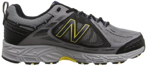 pictures of New Balance Men's Mt510 Trail Trail Running Shoe,Grey/Yellow,12 4E US