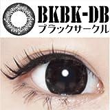 コンタクトフィルムズ☆ブラックサークル 15.0mm BKBK-DB(度つき)1枚入 (-5.00)