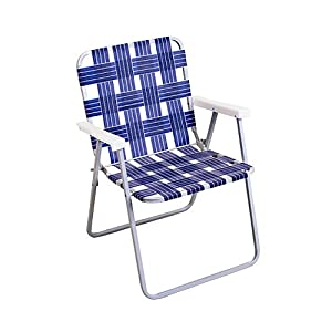 Rio Brands Llc RIO BRANDS BY055A-0138 Aluminum Web Chair, Blue at Sears.com