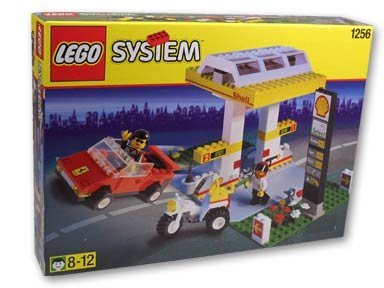 LEGO Town Shell Promo 1256 Gas Pumps
