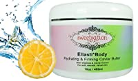 Ellasti*Body Organic Hydrating & Firming Caviar Butter, with Vitamins & Caviar Extract, 16oz by Sweetsation Therapy