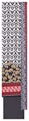 Mahek Fashion Women's Cotton Unstitched Dress Material (White and Black)
