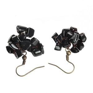 Grape Onyx Earrings.
