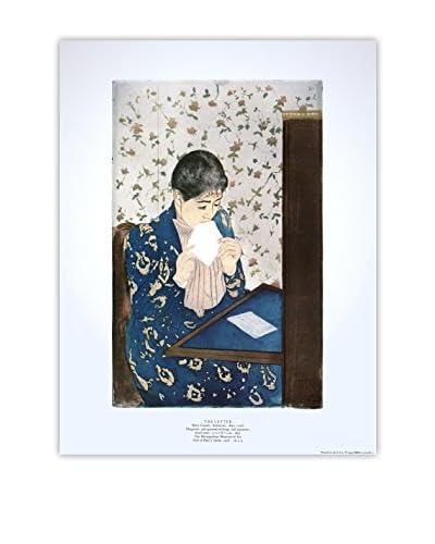 """Mary Cassatt """"The Letter"""" 1990 Unframed Poster, Multi"""