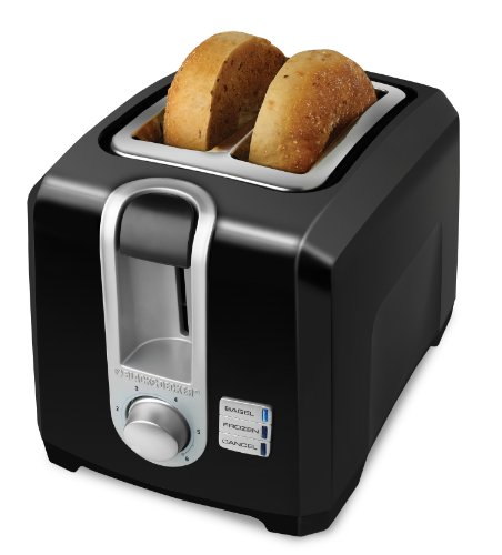 Black & Decker® T2569B 2-slice Toaster, Black футболка детская picture organic toaster tee black